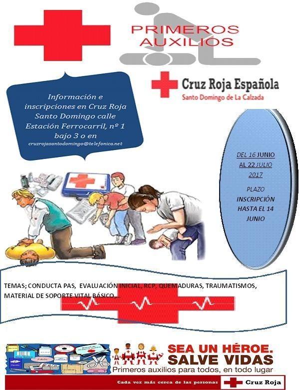 curso de rcp basico cruz roja